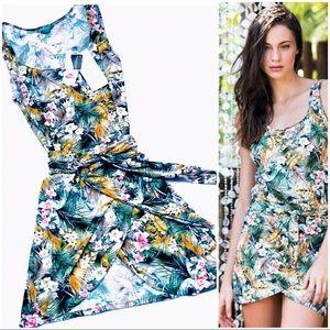 🆕Hot🔥Designer CIA.MARÍTIMA Sash Tie Mini Dress